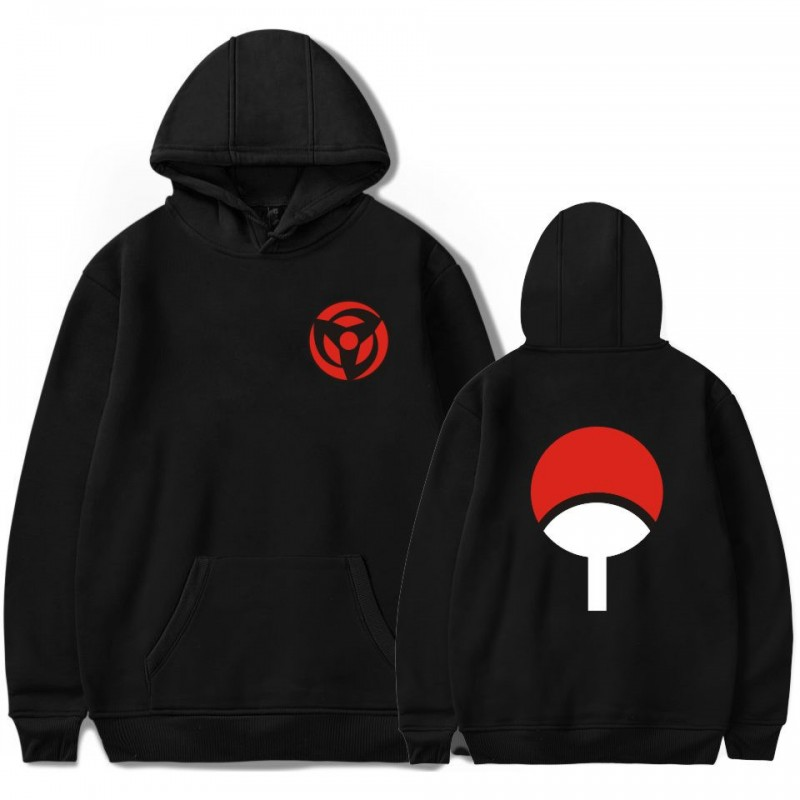 Sweat à capuche Sharingan clan uchiha
