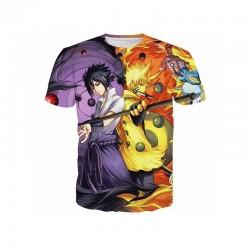 T-shirt Sasuke vs Naruto