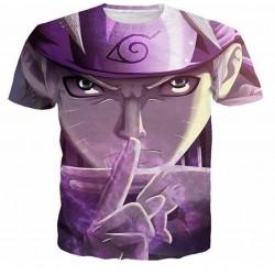 T-shirt naruto violet