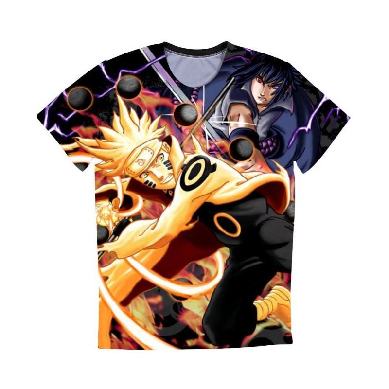 T shirt naruto demon renard - Naruto renard ...