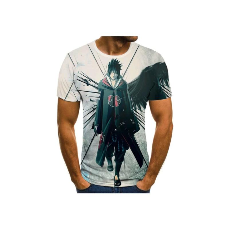 T-Shirt Naruto | Sasuke Clan Akatsuki Avant