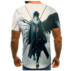 T-Shirt Naruto | Sasuke Clan Akatsuki Arrière