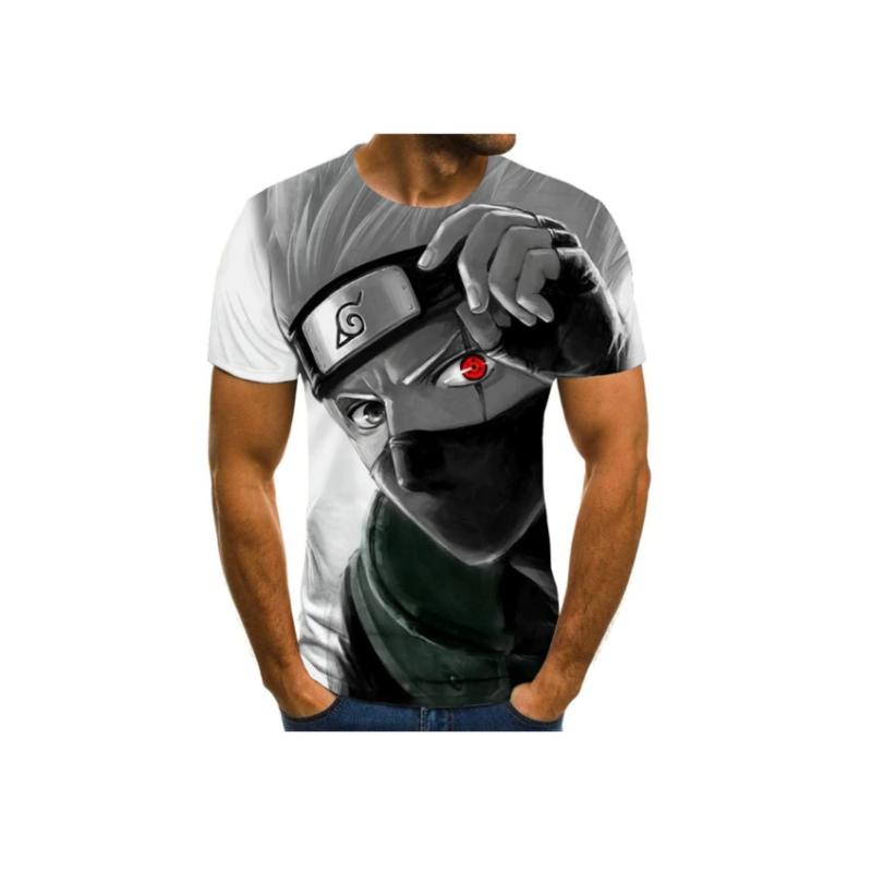T-Shirt Naruto | Kakashi Sharingan Face avant